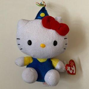 Sanrio Ty Hello Kitty Birthday plush